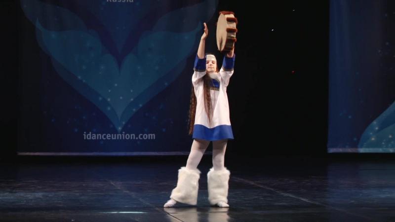 Конкурс мини мисс г. Екатеринбург танцует Ильюк Ева