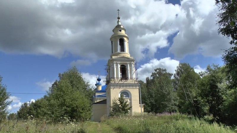Возрождение храмов - Иванцево и Зятьково. Пейзажи реки Дубны.
