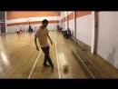Упражнение Удар по мячу средней частью подъема ноги