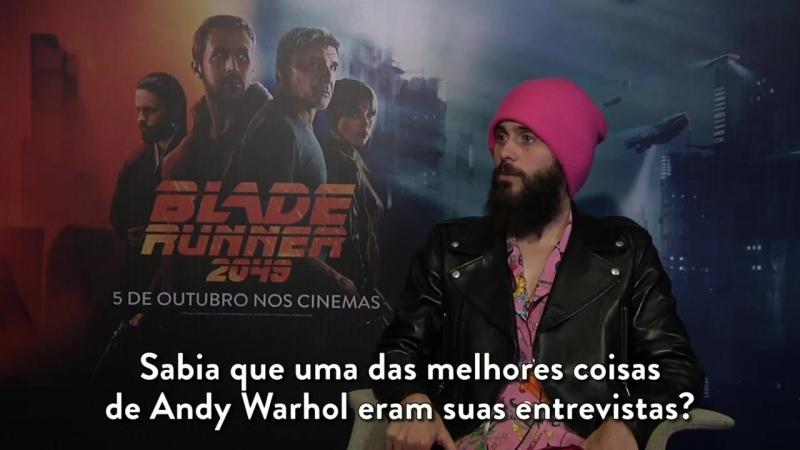 △̵̵ Jared Leto conversa com Super Oito ― JGBR