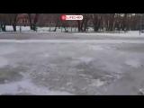 Из-за прорыва трубы на Шинном заводе в Омске отменены занятия в школе