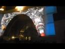 Видеошоу у павильона Космос на ВДНХ 15 апреля 2018 года
