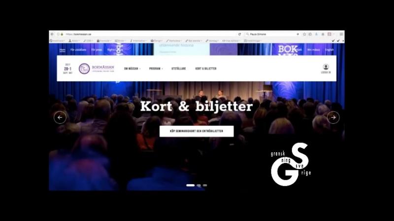 Bokmässans flyr frågor om Granskning Sverige