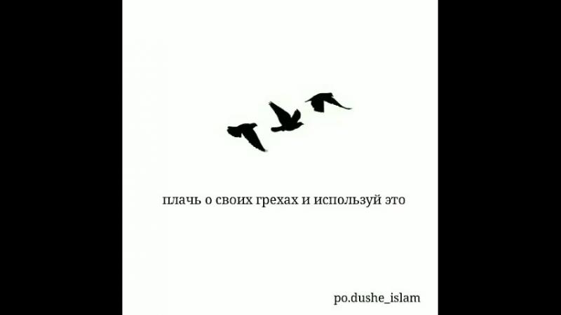 Совершай благие дела ❤️