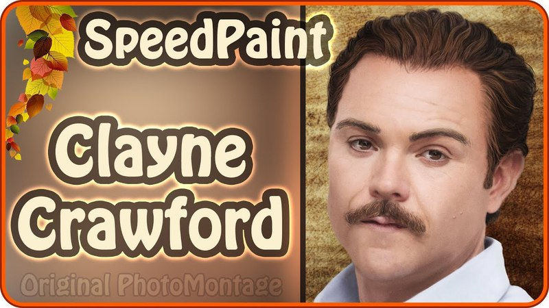 Clayne Crawford as Martin Riggs | Lethal Weapon | Photoshop SpeedPaint