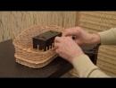 Плетение из лозы Плетем полочку Wickerwork