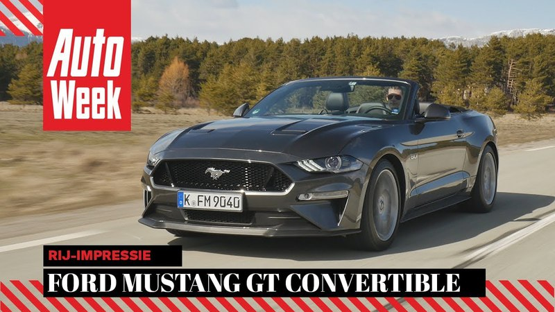 Ford Mustang GT Convertible - AutoWeek Review