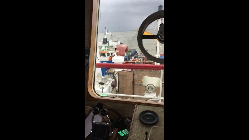 Удачная попытка передачи члена экипажа