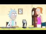 Radiohead albums as represented by Rick and Morty