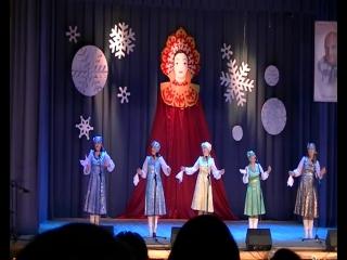 Наталья Мисюра из Югыд Яг, Акварель, Танец с венками Югыд Лань и трио Ношуль