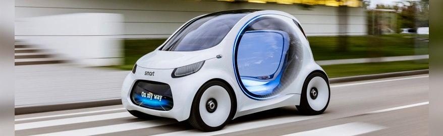 Франкфурт 2017: Smart представил автомобиль без руля и педалей