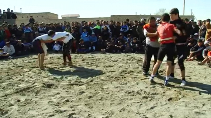 Gazanjyk toyy - Turkmen goreshi (6-nji bolegi)    vk.com/turkmenvideolar