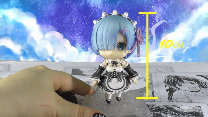 [Alice Kitsune Akuma キツネ悪魔アリス] Nendoroid Rem 663 ( Re Zero ) Распаковка и обзор аниме фигурки