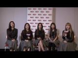 171128 Red Velvet shares their beauty secret @ Toggle