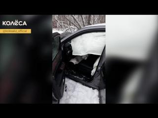 Угнал авто в Караганде