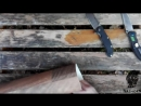Сравнительное тестирование двух отличных ножей. Два брутальных флиппера на подшипниках, с классной механикой и эргономикой. В на