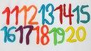 Учим цифры с Пластилином Плей До и Учимся считать от 1 до 20