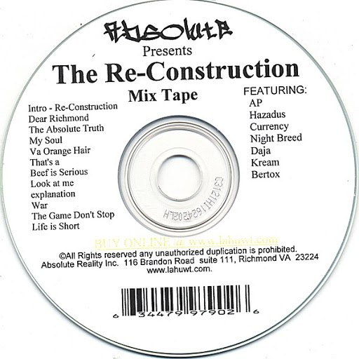 Absolute альбом The Reconstruction