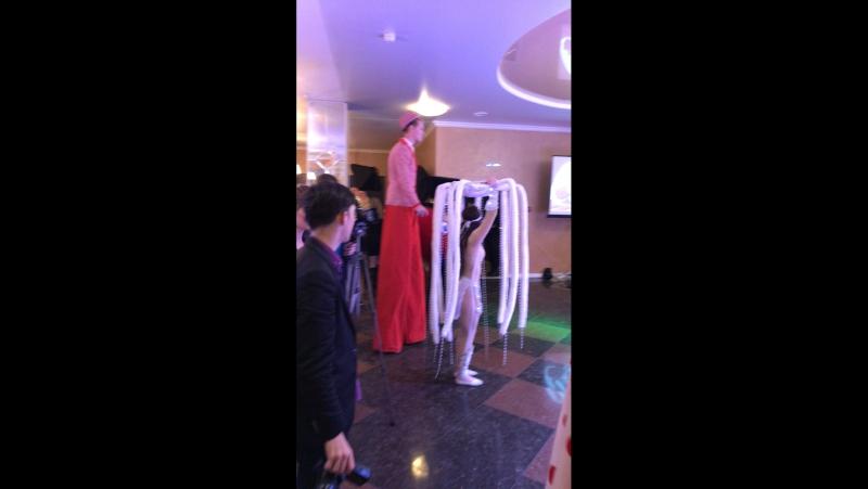 Наше Сердце-курьер танцует на свадебной выставке!