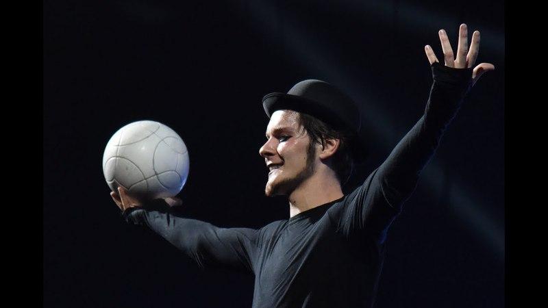 Barcelona La Merce Vladislav Kostuchenko (performance unedited)