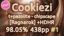 Cookiezi tpazolite - chipscape Ragnarok HDHR 98.05 x4 Miss 438pp Live Spectate
