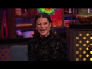 After Show. Lea Michele Rates John Stamos' Kiss WWHL