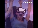 Американские горки в очках виртуальной реальности