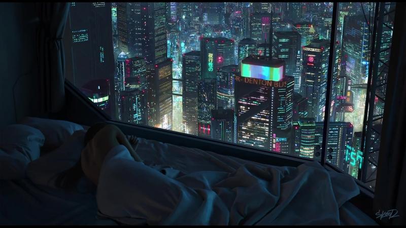 2AM Cyberpunk High Rise Apartment Skeor V2
