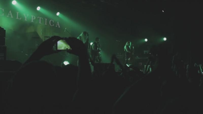 Apocalyptica_ гимн России В пещере горного короля (Moscow, Ray Just Arena 11_12_