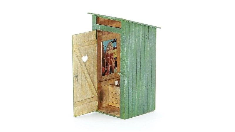 50162 Деревянный туалет