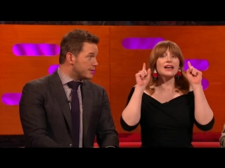 Graham Norton Show S23E08 Chris Pratt, Bryce Dallas Howard, Jeff Goldblum, Thandie Newton