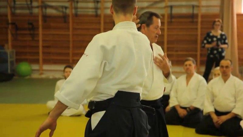 Christian Tissier - aikido seminar Moscow 2018