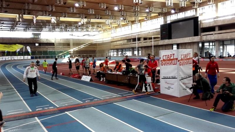 Эстафета 4х200 Элен и ребята TrackField 17.03.2018