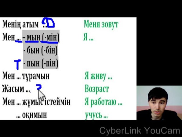 Казахский язык Знакомиться Танысу 1 күнде 1 фраза