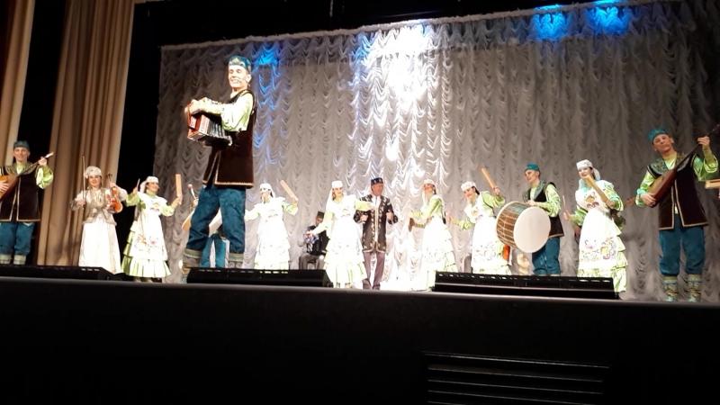 На концерте Государственного ансамбля фольклорной музыки РТ в Чистополе