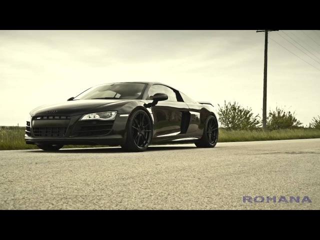 Audi R8 - RF2 Matte Black