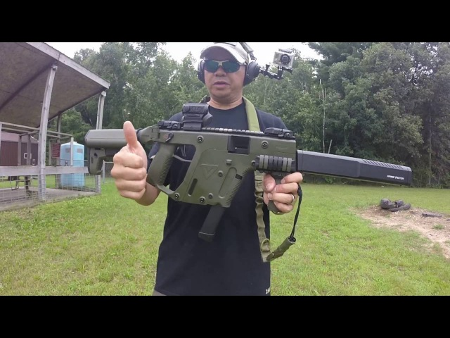 Shooting the Kriss Vector 9mm Gen 2 with Holosun H503C (raw uneditted)