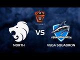 North vs Vega Squadron, map 1 mirage, cs_summit 2