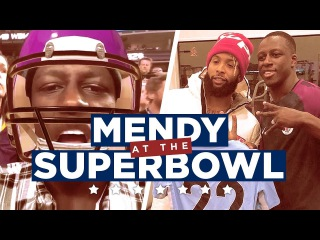 MENDY IN THE USA! | Super Bowl LII Vlog