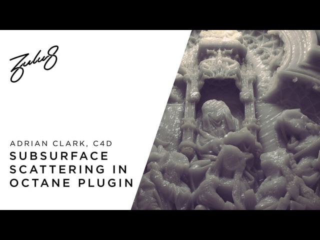 How To Create Subsurface Scattering In C4D Octane