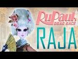Custom Raja Doll and Marie Antoinette Wig RUPAUL'S DRAG RACE