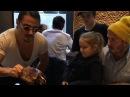 Salt Bae Serving David Beckham And All His Cute Family saltbae davidbeckham nusr et