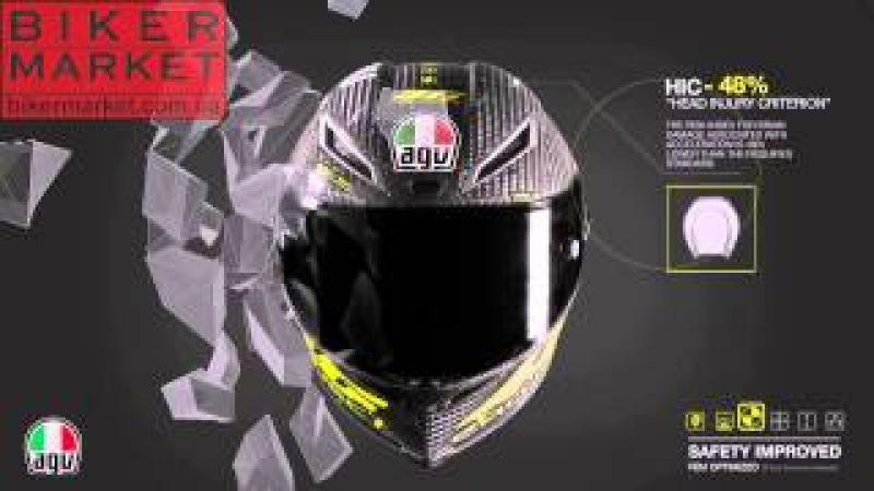 Мотошлем AGV Pista - революция в мире мотошлемов