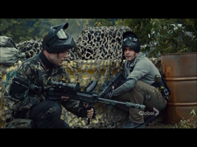 Rookie Blue - 4x3 - The rookies play paintball