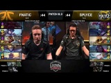 FNC vs. SPY - Неделя 5 День 2 LCS EU 2018 Spring Split