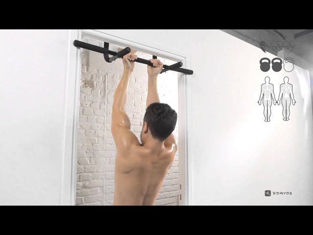 Cross training Supination avec Pull up bar Domyos