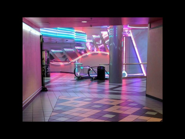 Kids by MGMT playing in an empty mall