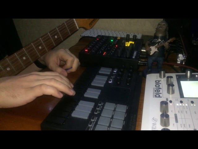 Megus — New Year Jam (Digitakt, Blofeld, Guitar)