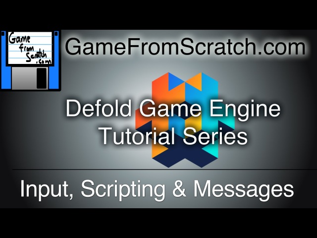 Defold Tutorial Series -- Input, Scripting and Messages