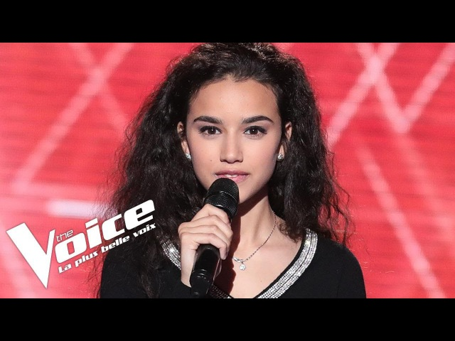 Yves Montand (Les feuilles mortes)  Lilya  The Voice France 2018  Blind Audition